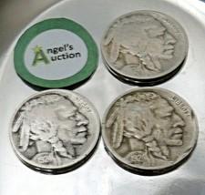 Buffalo Nickel 1924, 1924 and 1924 D AA20BN-CN6082 image 2