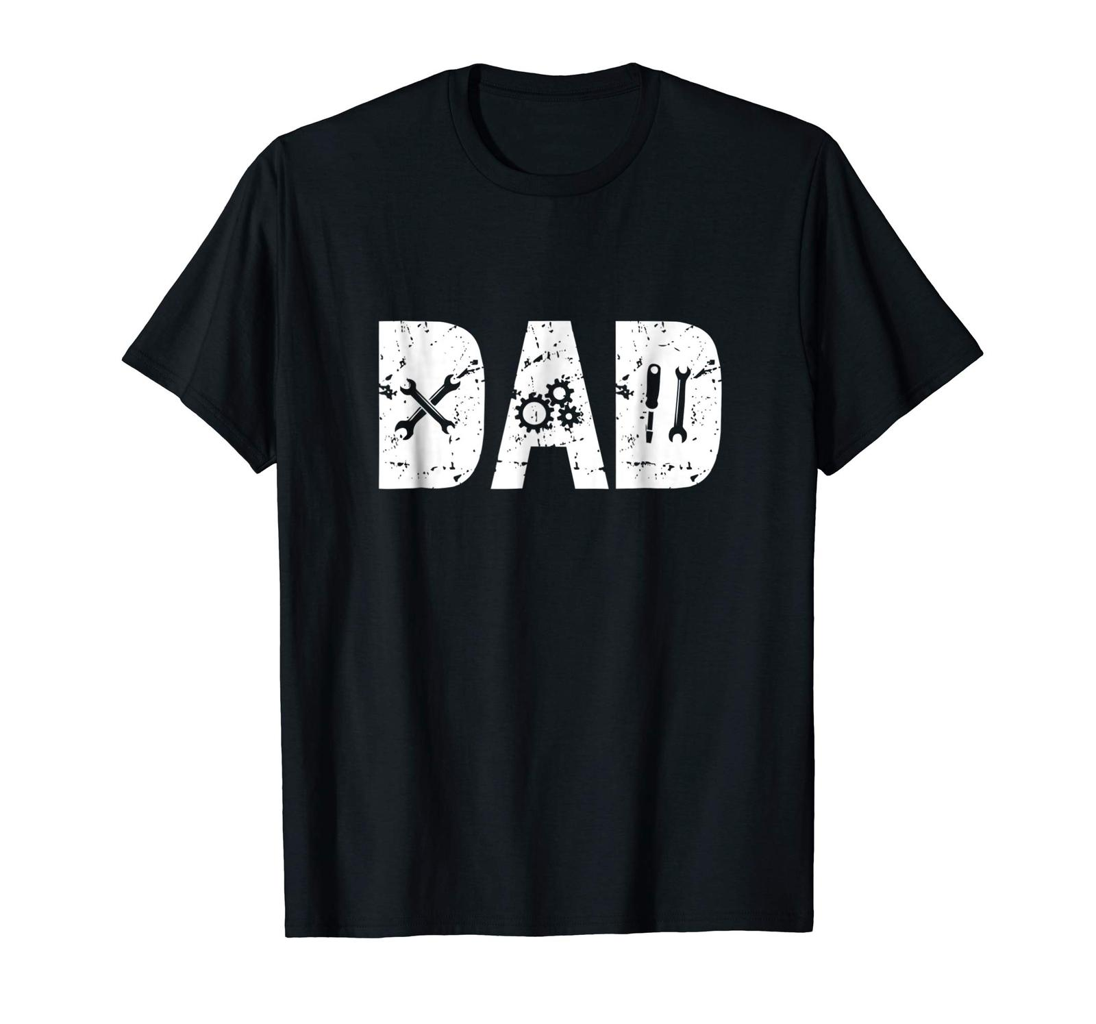 Dad Shirts - Funny Dad Gift Mechanic Shirts for Men Fathers Day 2018 Tee Men image 5