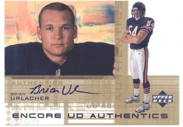 2000 Upper Deck Encore UD Authentics Brian Urlacher Rookie Autograph Car... - $50.00