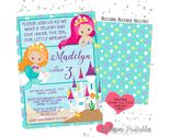 Mermaid birthday printable listing thumb155 crop