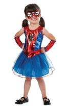 Rubies Spider Girl Spidey Spiderman Marvel Comics Halloween Costume Child 880853 - $34.42