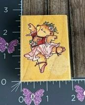 Rubber Stampede Ballerina Bear Rubber Stamp A792D #V20 - $8.90