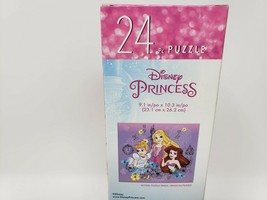 Disney Princess 24 Pc Jigsaw Puzzle - New - Cinderella, Rapunzel, & Ariel - $9.99