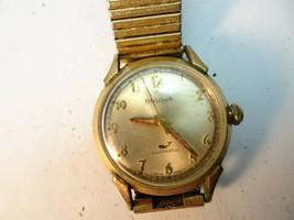 VINTAGE BULOVA WHALE 11BLAC AUTOMATIC 17 JEWEL 1969 WATCH RUNS FOR RESTO... - $125.00