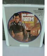 Factory Sealed CED Videodisc David Janssen The Fugitive Final Episode (d... - $13.98