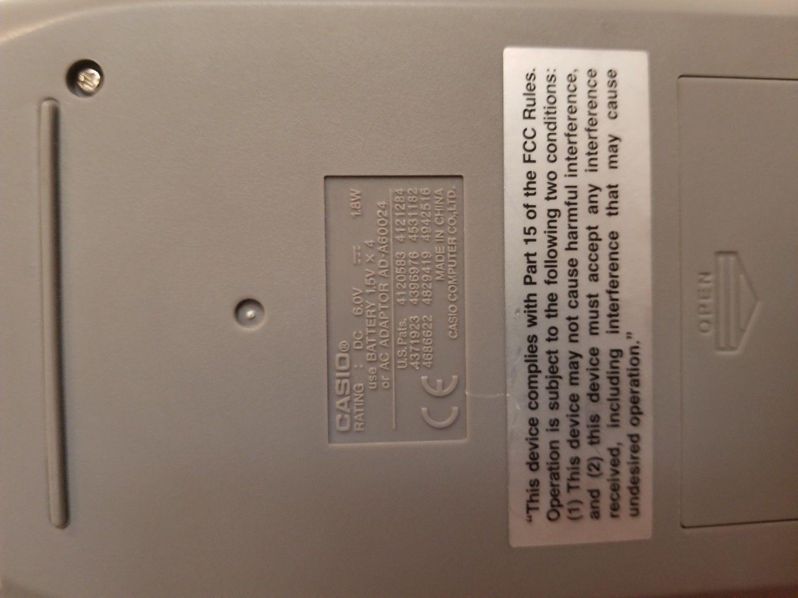casio printing calculator image 4