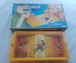 Mickey Mouse Magnetic Drop Shot Tennis Game Vintage Walt Disney Durham 1978 - $16.59