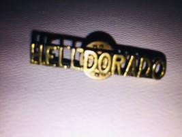 Vintage Helldorado Brass Pin - $33.66