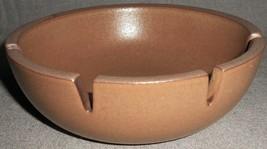 Mid Century HEATH POTTERY Brown Color FOUR SLOT ASHTRAY Sausalito - Cali... - $39.59