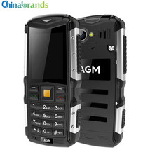 AGM M1 3G Bar Phone Dual SIM 20 inch IP68 Waterproof Mobilephone Dual Du... - $71.04