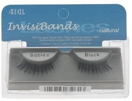 Ardell Invisiband Lashes, Babies Black, 1 Pair - $15.97