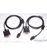 2x DB9 Serial Cable for HP 48G 48GX 48SX [HP48G+ HP48S HP48GX] & CD - USA - $37.62