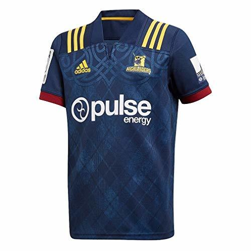 adidas Highlanders Home Rugby Jersey, Medium Navy