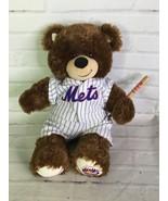Build a Bear MLB New York NY Mets Teddy Bear Plush Stuffed Animal And Un... - $59.40