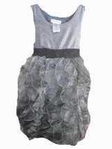 Bonnie Jean sleeveless ruffle party dress SIZE 8 - $16.78