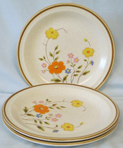 Nikko Field Flowers Salad Plate set of 3 - $23.65