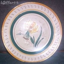 STANGL GARDEN FLOWER (YELLOW LILY) LUNCHEON PLATE - $17.45