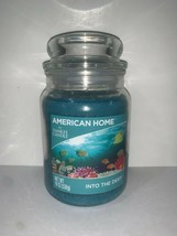 ☆☆INTO THE DEEP ☆YANKEE CANDLE JAR~ FREE SHIPPING☆AMERICAN HOME FRESH SCENT - $21.73