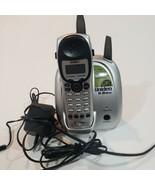 UNIDEN EXI5160 5.8 GHz DUAL  CORDLESS HANDSET & BASE - $19.79