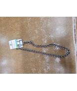 Dog Chain Dog Collar - M - Silver - Boots & Barkley™ - $9.50