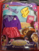 Fisher Price Dora The Explorer Doll School Time Dress-Up Clothing Outfit... - $12.79