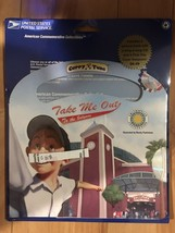 Take Me Out to the Ball Game FDC stamp & Picture Book w/ Sing-a-Long CD!... - $8.00