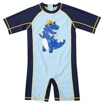beautyin Rashguard Swimsuit Baby one Piece Bathing Suit Cute Dinosaur 18... - $19.54