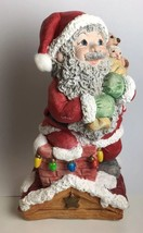Dreamsicles Up On the Rooftop ~ Christmas Santa 10423 Kristin Haynes 1998 - $8.81