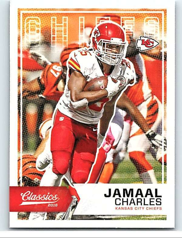 Primary image for 2016 Panini Classics #69 Jamaal Charles NM-MT Chiefs