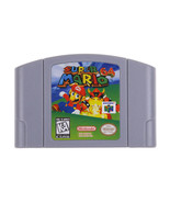 N64 Game Super Mario 64 Video Game Cartridge Console CARD US VERSION - $28.04