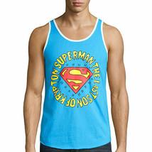 Superman Turquoise Tank Top New DC Comics - $9.99
