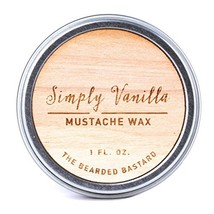 Simply Vanilla Mustache Wax For Strong All Day Hold With Jojoba Essential Oil, A image 1