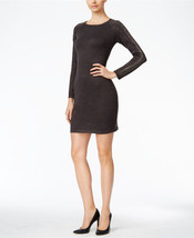 Calvin Klein Petite Studded Sweater Dress Charcoal Size PS $134.99 - $29.39