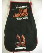 Minute Maid Fruit Juicee Frozen Snacks Bib Apron Promo - $21.77