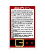 Christmas Trivia Holiday Party Game Cards - Set of 30 - $16.50