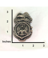 OBSOLETE US ARMY MILITARY POLICE FULL SIZE MP BADGE INSIGNIA FOR COLLECTORS - $52.74