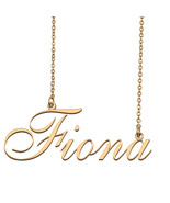 Fiona Custom Name Necklace Personalized for Mother's Day Christmas Gift - $15.99+