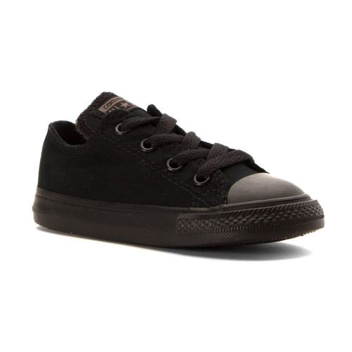 Converse Infant/Toddlers Chuck Taylor All Star Low Top Black Mono 714786F