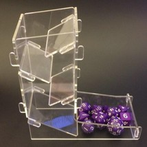 The Transparent Dice Tower/Game Accessories/Throw the dice/Creative Dice... - $16.48