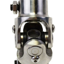 "Stainless Steel Yokes Steering Shaft Universal U-Joint 3/4"" 30 Spline To 3/4"" DD image 7"