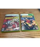 XBox 360 Borderlands & Duke Nukem Forever Gearbox  - $9.89