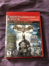 Batman Arkham Asylum Game Of The Year Edition Sony PS3 COMPLETE 2011 - $7.11
