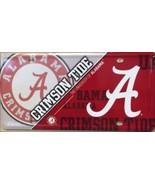 Alabama Crimson Tide Deluxe  Metal License Plate - $14.85