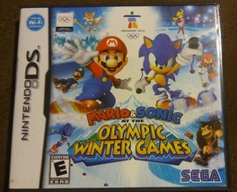 Mario & Sonic at the Vancouver Olympic Winter Games (Nintendo DS, 2009) ... - $18.39