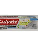 Colgate Total SF Toothpaste - Deep Clean - Paste - Net Wt. 3.4 OZ - $3.00