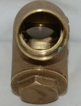 Legend 105 406 Bronze Y Pattern Check Valve Lead Free 1 1/4 Inch image 5