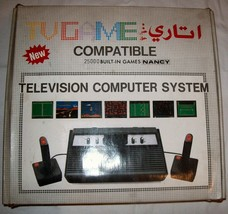 Rambo TV Games Atari 2600 Clone legendary TV console 25000 Games #01 - $180.00