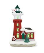Hallmark Keepsake 2017 Santa and Polar Bear Magic Lighthouse - $64.34