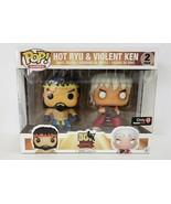 Funko Pop! Games Street Fighter Hot Ryu & Violent Ken 2 Pack Game Stop E... - $15.90