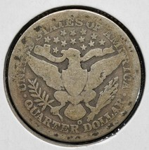 1896O Silver Barber Quarter Dollar 25¢ Coin Lot# CV42 image 2
